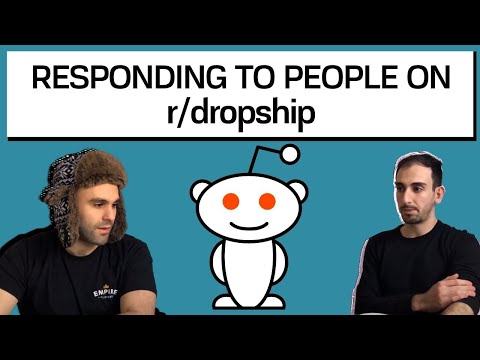 REDDIT DROPSHIPPING - Responding to Posts on r/dropship thumbnail