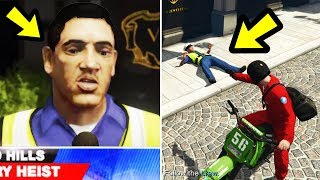 Zapętlaj GTA 5 - What happens if you take out the witness? | NoughtPointFourLIVE