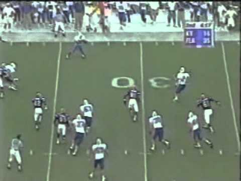 Tim Couch vs  Florida 1998