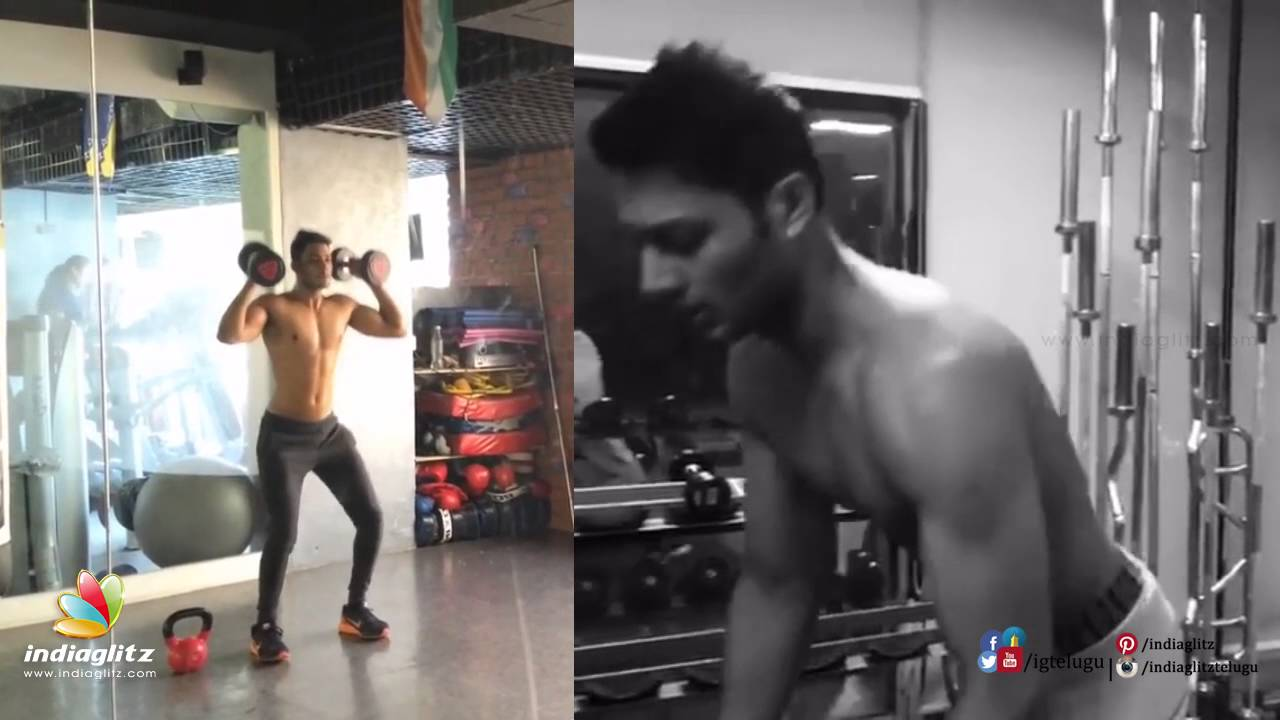 Hero Prince Work Out In Gym Six Pack Youtube