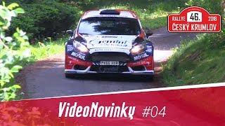 46. Rallye Český Krumlov 2018 - průjezdy a rozhovory po RZ 12