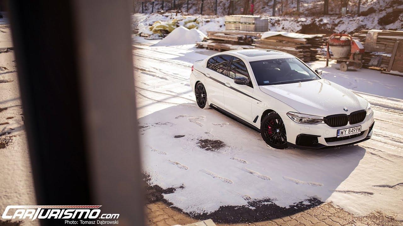 BMW M550i xDrive test PL Pertyn Ględzi