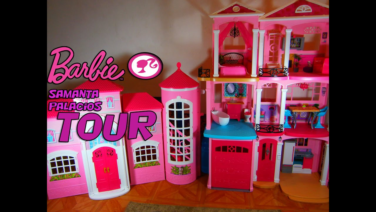 Tour casa de barbie dreamhouse 2015 youtube - Casa de barbie ...
