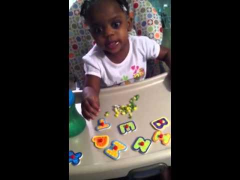 Brooklynn Smith - Alphabet (17 months)