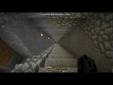 Minecraft giant mine shaft