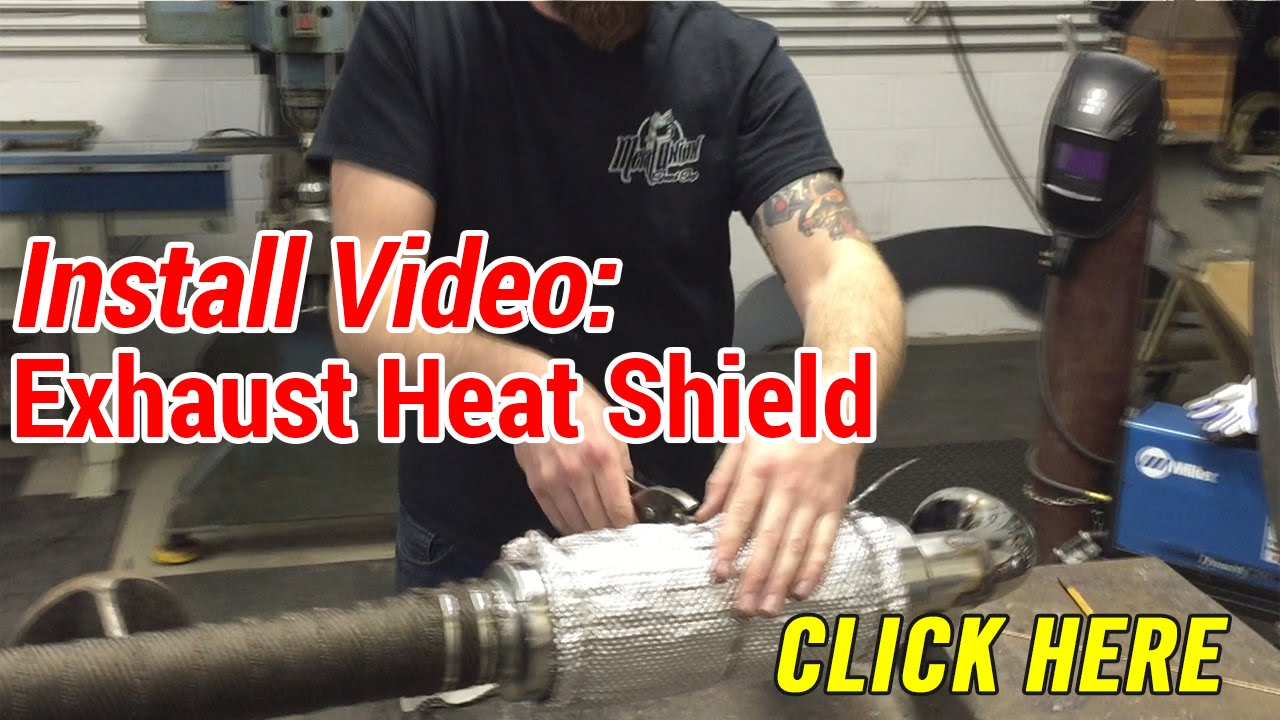 How to Install Exhaust Heat Shield