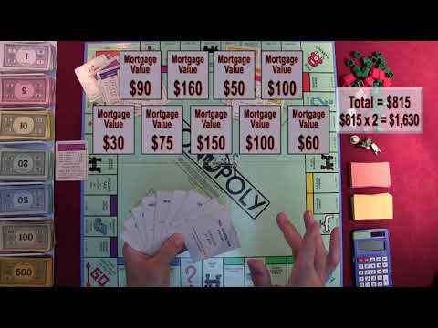 Monopoly Variant Rules Gameplay: Learning Math by Playing Board Games [ASMR Math, How to]