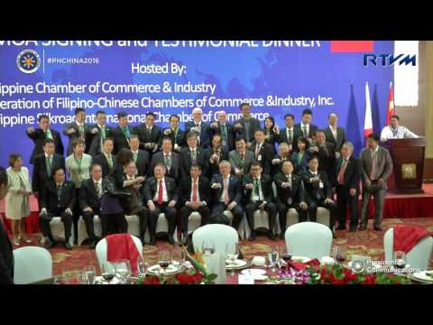 Meet and Greet with the Philippine-China Business Delegation 10/20/2016