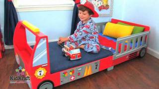 Kidkraft Childrens Fire Engine Toddler Bed