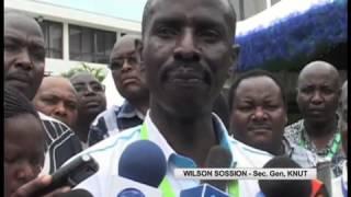 KNUT Secretary General denies that he has sabotaged learning in N. Kenya