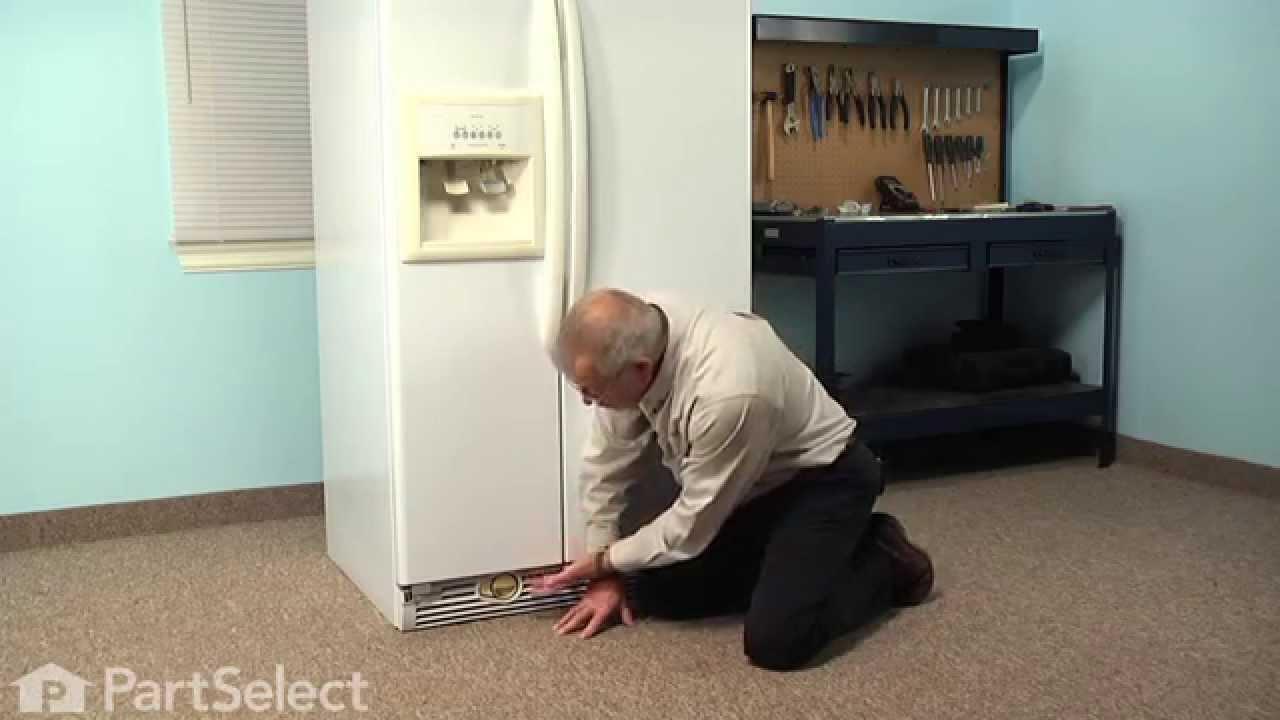 Refrigerator Repair - Replacing the Water Filter Cap (Whirlpool Part #  2260502W and 2260502B)
