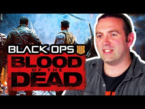 NEW SECRETS IN BLOOD OF THE DEAD FROM JASON (BO4 ZOMBIES MOB OF THE DEAD)