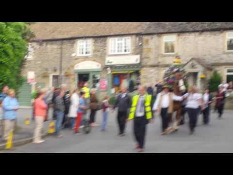 'Oak Apple Day' celebrations, in the village of Castleton, in Derbyshire!