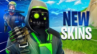 NEW SKINS IN FORTNITE (Archetype, Navy Seals, more!)
