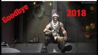 GoOdByE 2018 Fortnite Montage!!!