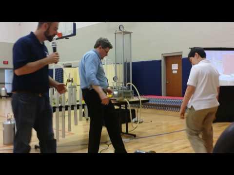 Fulton Science Academy Private School STEAM Day- Georgia Tech Research Institute Experiment