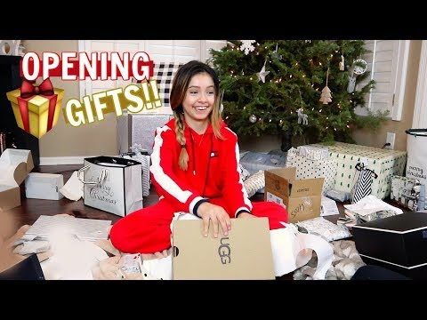 Opening Christmas Presents  Funny
