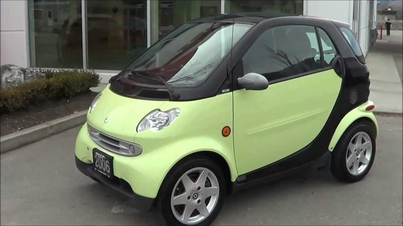 2006 Smart Car Cdi Pion With Turbo Sel Engine Penticton Honda