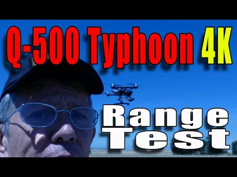 Yuneec Typhoon Q-500+ 4K RANGE TEST ! - Demunseed