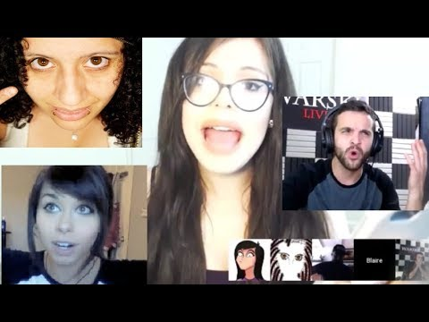 The Crazy Hair Stream - Blaire White, shoe0nhead, Andy Warski, Bunty King Talk To Possible Stalker