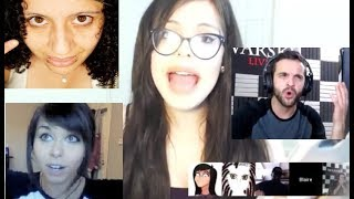 The Crazy Hair Stream - Blaire White, shoe0nhead, Andy Warski,…