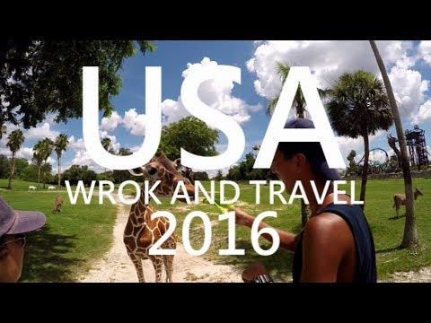 2016 Summer Work and Travel in USA