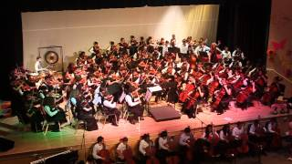 Arvida Orchestra performance Coldplay - Clocks