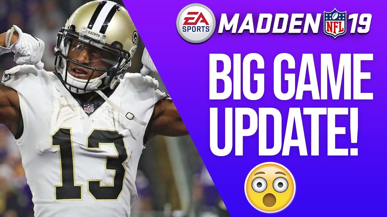 EA Just Changed Madden 19....AGAIN! Here s What Changed... - YouTube 523e489a2