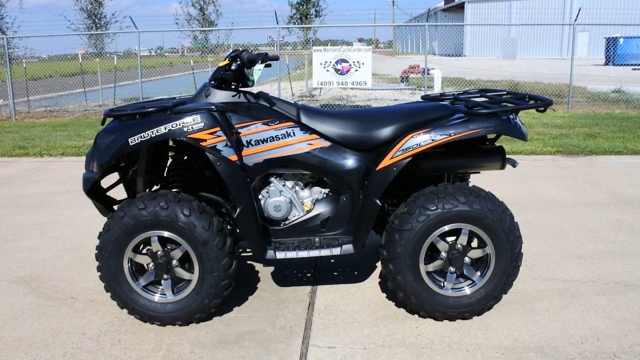 hight resolution of sale 7 999 2018 kawasaki brute force 750 eps in super black overview and review