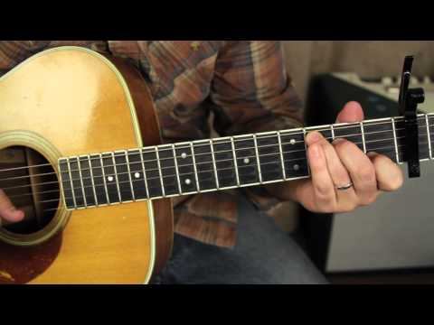 Fleetwood Mac - Landslide - Lesson  acoustic fingerpicking guitar lesson tutorial