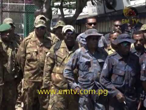 PNG Defence Force Updates on Progress of Hela Call Out Operation