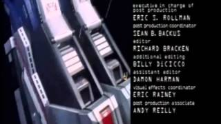 Power Rangers In Space Ending With Megaranger Theme Super Galaxy Mega Version