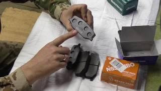 Обзор колодок Akebono Nisshinbo G-brake