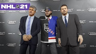 NHL 21 BE A PRO #5 *THE NHL DRAFT*