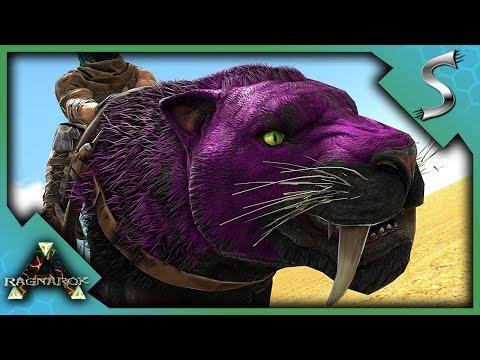 MUTATED SABERTOOTH! SABERTOOTH PACK BREEDING! - Ark: RAGNAROK [DLC Gameplay S3E15]