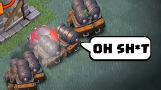 COC Funny Moments, Glitches, Fails & Trolls Compilation #8 | CLASh OF CLANS Funny Video