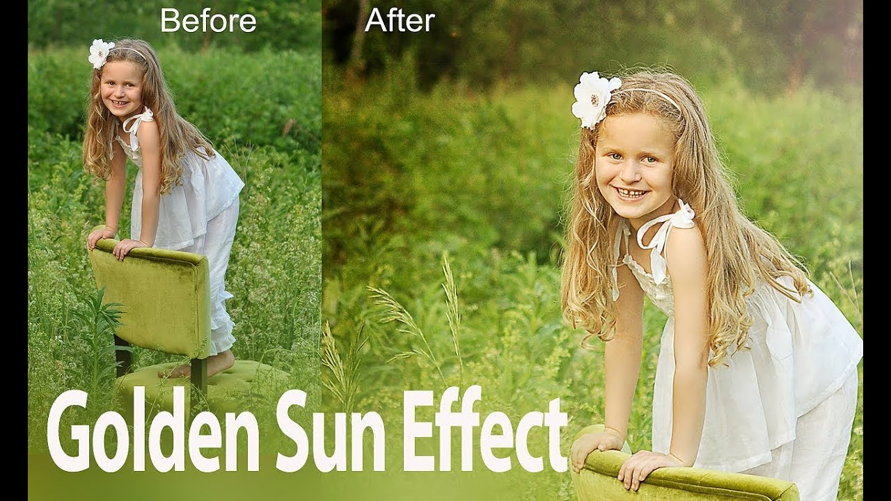 Create Sunny Picture Look Using Texture Overlays