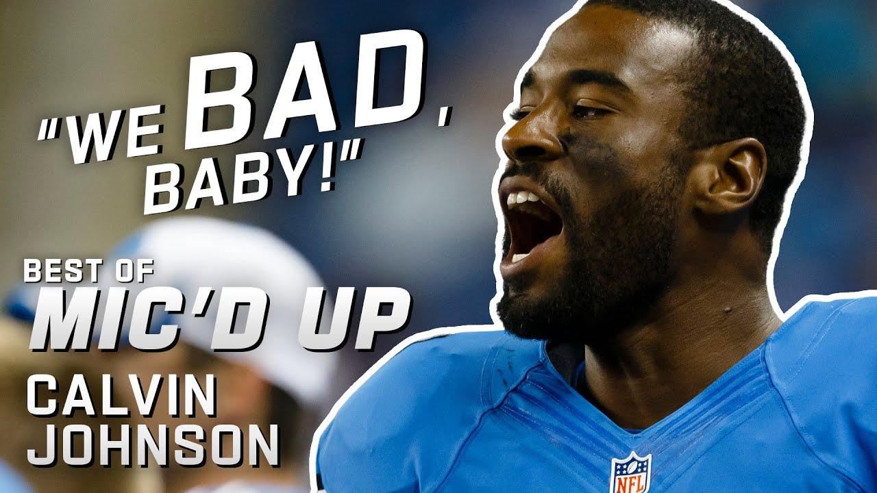 """We BAD, baby!"" Best of Calvin Johnson ""Megatron"" Mic'd Up!"