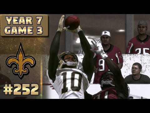 Saints @ Falcons (S7,G3) | Madden NFL 17 New Orleans Saints Franchise Ep. 252