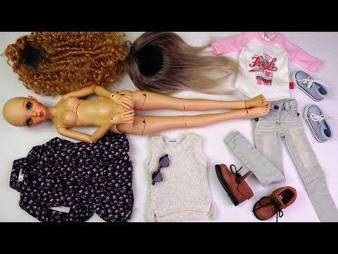 ★토이구마★MSD 구체관절인형 다락 레미(라이트텐)개봉기~옷 입히기★Ball Jointed Doll DaraK Remy(MSD,Light Tan Skin)Unboxing/BJD