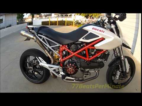 2009 Ducati Hypermotard 1100 Review, Mods and Ride