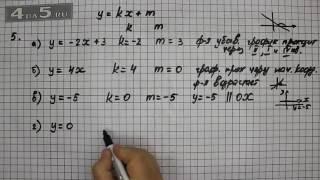 Итоговое повторение 5. Алгебра 7 класс Мордкович А.Г.