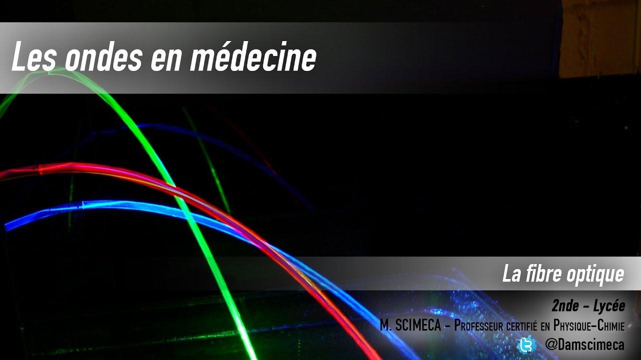 Les Ondes - Application  U00e0 La Fibre Optique