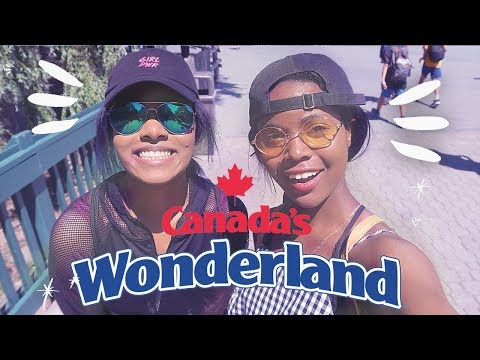 I'm Terrified of Rollercoasters 😱 22nd Birthday Vlog at Canada's Wonderland Amusement Park 🎢
