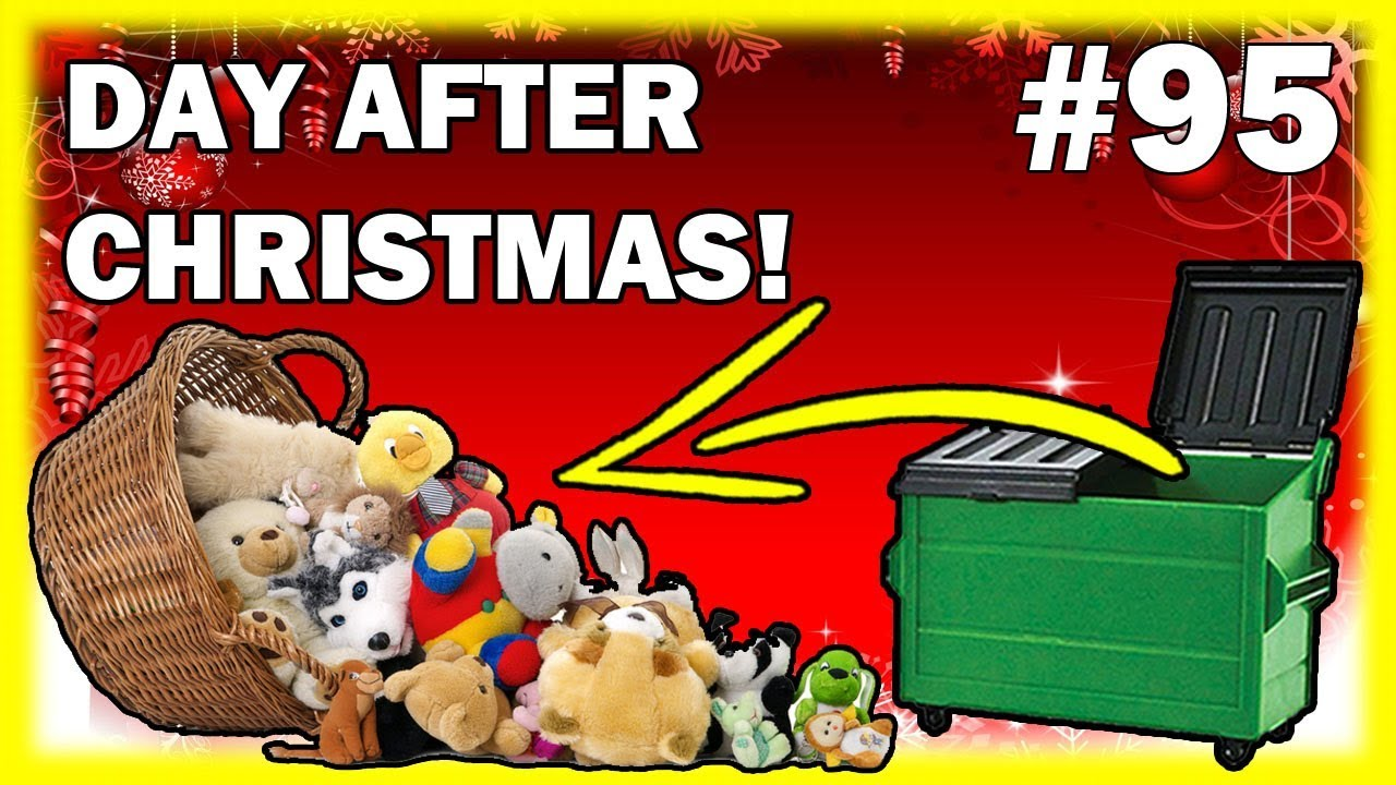 Day After Christmas.Dumpster Diving Day After Christmas Huge Jackpot Night 95