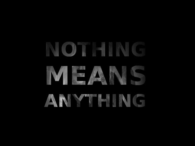 Kegan DeBoheme - Nothing Means Anything