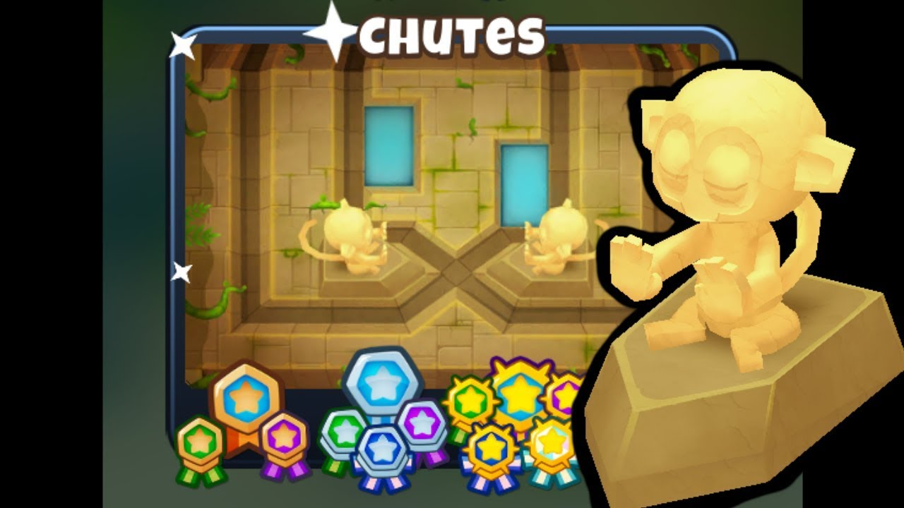 BTD6 - Chutes CHIMPS Black Border - (Outdated) : LightTube