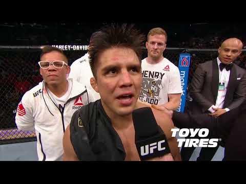 UFC 227: Henry Cejudo and Demetrious Johnson Octagon Interviews