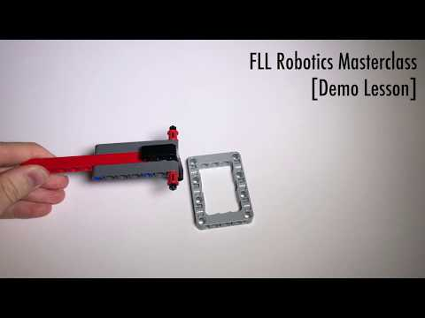 "FLL Masterclass Sample Lesson - How To Build ""One-Way Door"""