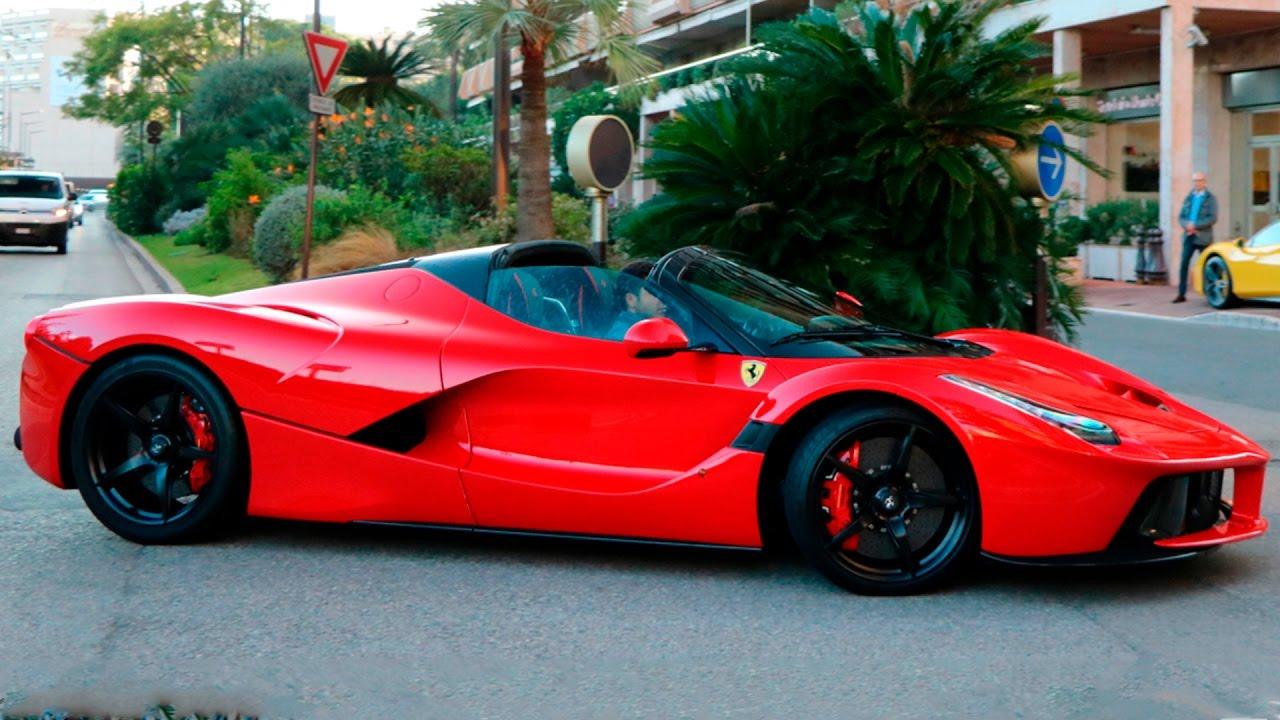 First Ferrari Laferrari Aperta In Monaco Youtube